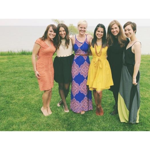 Mal, Rebecca, Sonja, me, Ashley, Allie