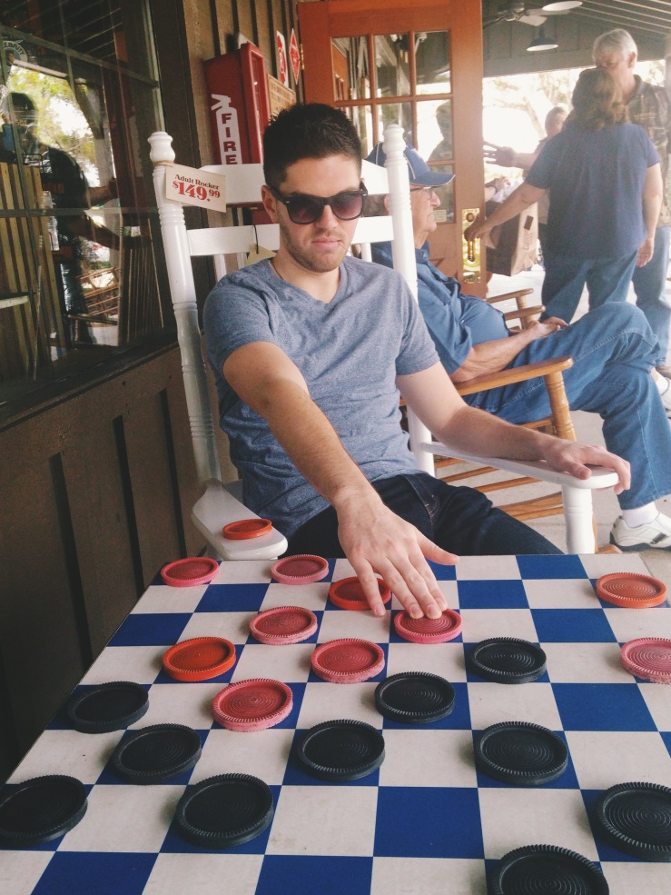 Have I ever mentioned how annoying it is to play checkers against this smarty?